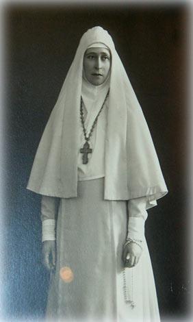 Великая княгиня Елисавета Федоровна в монашеском облачении. 1910-е