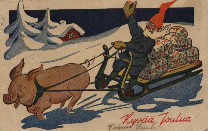 эротические открытки 1940 гг.