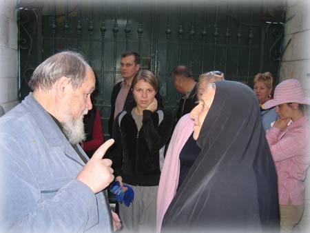 Духовная беседа с сестрами обители