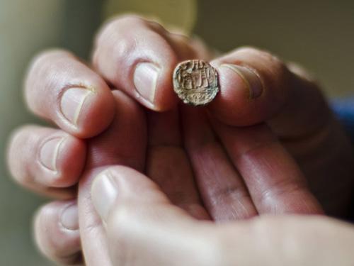 Найдена печать правителя Иерусалима, датируемая периодом Первого Храма  Управление древностей Израиля. Фото: Ю.Шварц