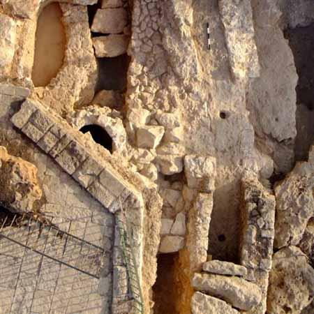 Акведук, найденный в ходе раскопок