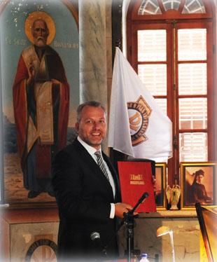 Председатель Иерусалимского отделения ИППО Павел Викторович Платонов