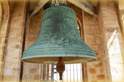 Колокол Спасо-Вознесенского русского монастыря на Елеонской горе в Иерусалиме