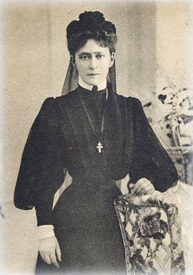 Её Императорское Высочество Великая Княгиня Елизавета Федоровна - Председатель Императорского Православного Палестинского Общества 1905-1917