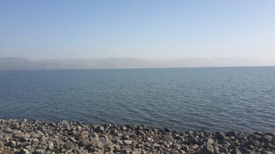 Галилейское море. © Фото Павла Платонова 12 января 2017