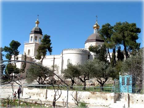 Храм во имя св.Праотцев на участке Русской Духовной Миссии в Хевроне