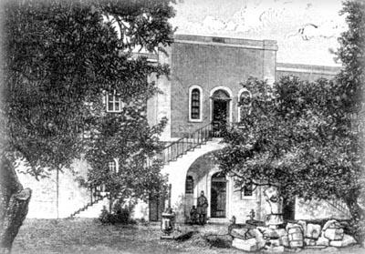 Дом, построеный о.Антонином на русском участке в Яффо, использовавшийся как приют для поклонников