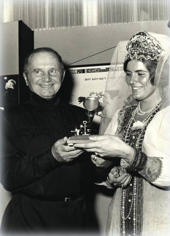 Вручение премии. © Фото из личной коллекции протоиерея Андрея Дьяконова Санкт-Петербург