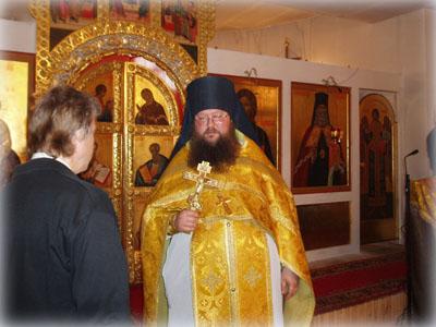 В храме святителя Николая Японского в Бибиреве.