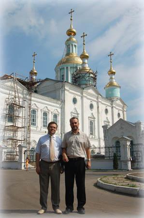 Сергей Чеботарев и Павел Платонов