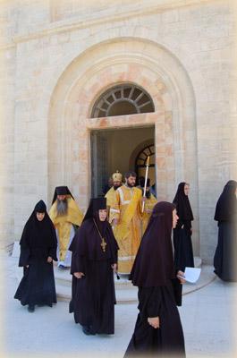 Игумения Георгия - настоятельница Горненского женского монастыря в Иерусалиме