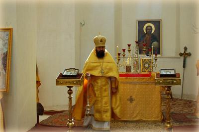 Начальник Русской Духовной Миссии в Иерусалиме архимандрит Елисей