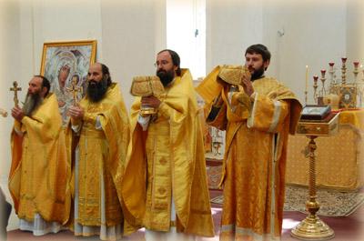 Члены Русской Духовной Миссии в Иерусалиме